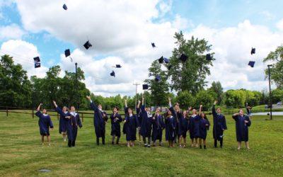 2021 Seniors Graduate in Style